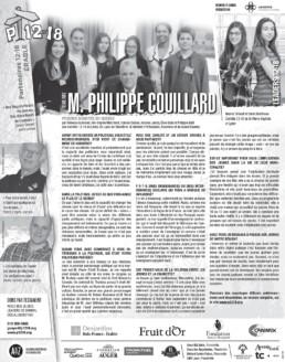 Miniature de journal : Entrevue Philippe Couillard