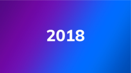 Photo dégradé de couleur 2018
