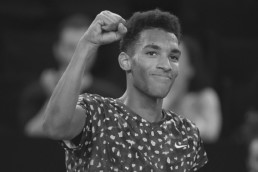 Photo de Félix Auger-Aliassime