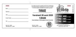 Spécimen chèque concours tirage
